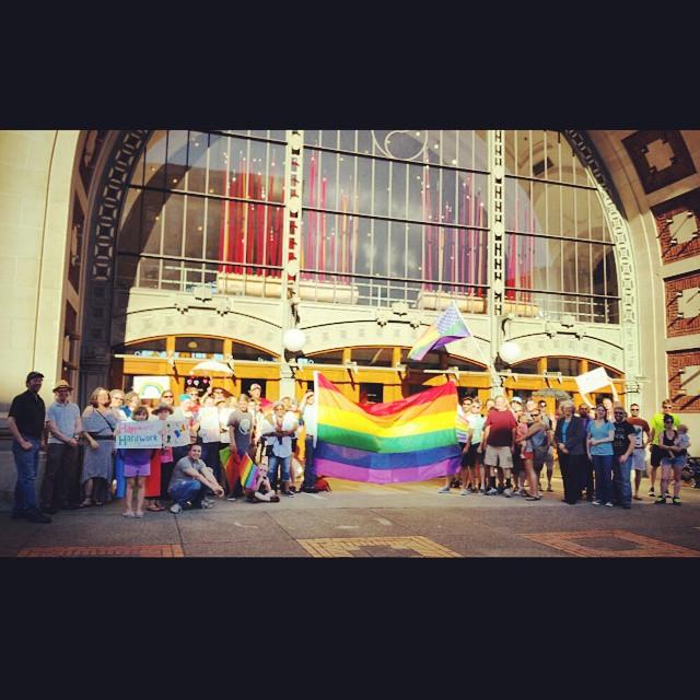lovewins victory tacomarainbowcenter LGBTQ TPF2015 tacoma