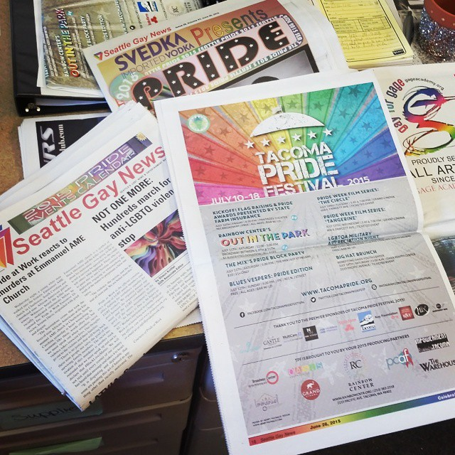 Check out this edition of the Seattle Gay News! TPF2015