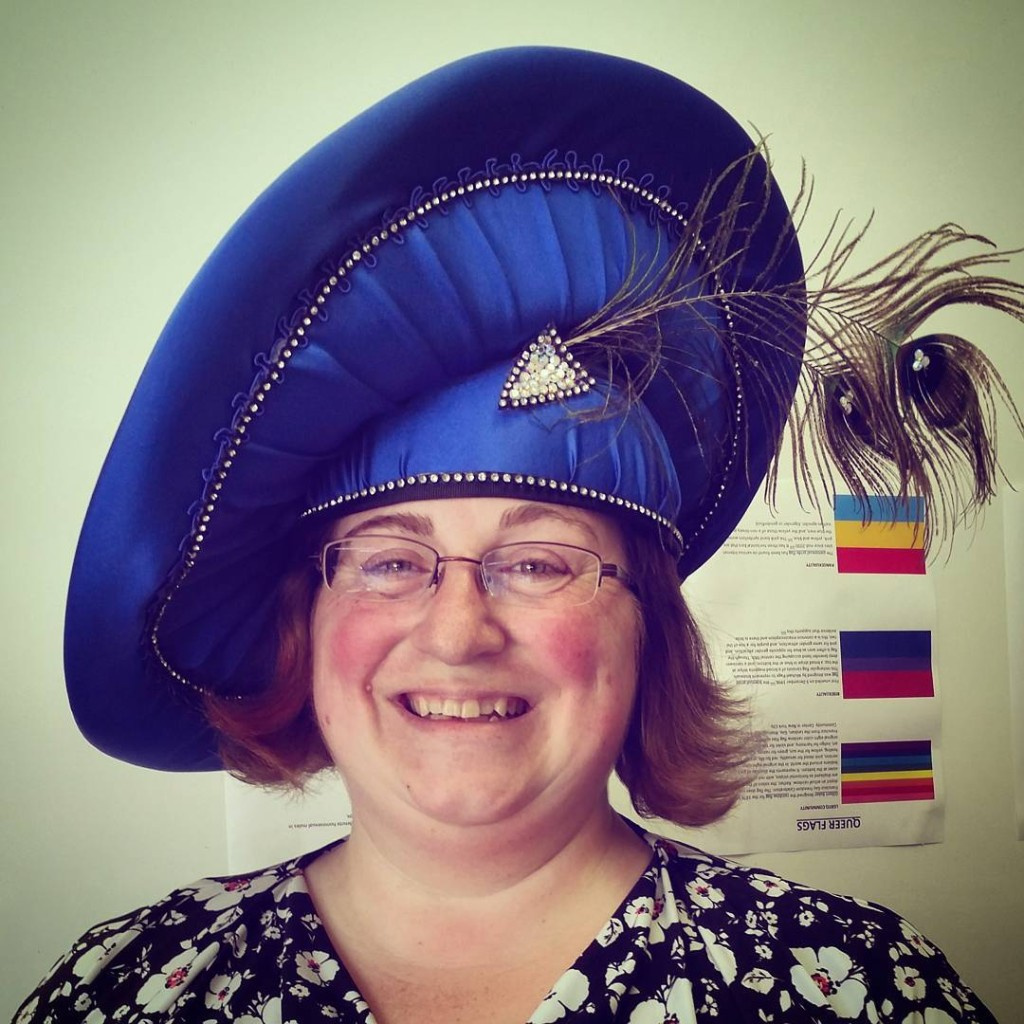 RC staff member Laura got her fabulous hat today fromhellip