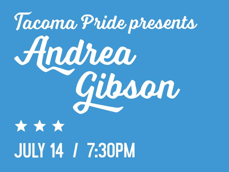 Tacoma Pride Presents Andrea Gibson Tacoma Pride Festival